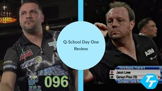Sherrock sparkles again | BIG NAMES exit early in Wigan | PDC Q-School 2020 Day one Review