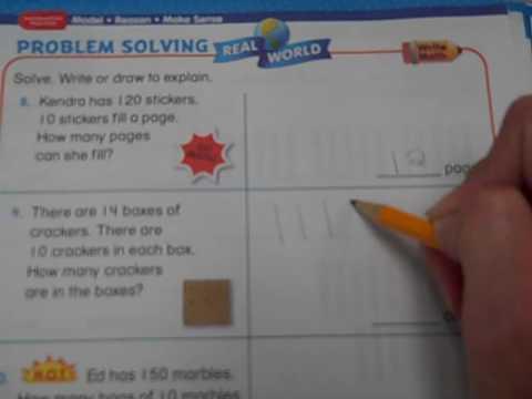 second grade problem solving