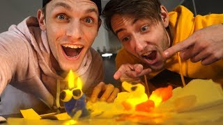 JE EIGEN KAARSEN MAKEN! (DIY) - Milan & Jeremy