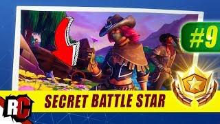 Secret Battle Star Location WEEK 9 Fortnite | Season 6 Hunting Party (Secret Battle Stars/Banners)