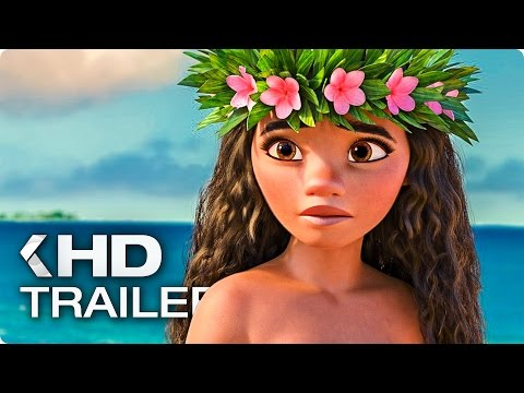 Moana ALL Trailer & Clips (2016)
