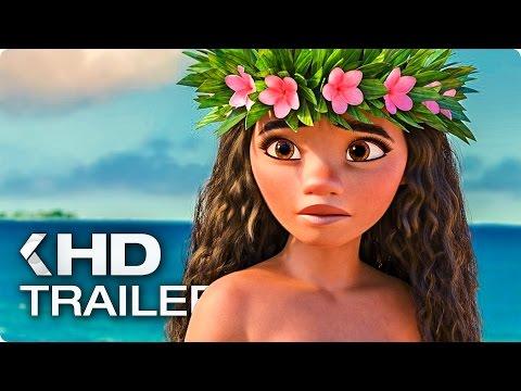 Moana ALL Trailer & Clips (2016)