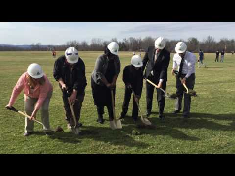 Hudson capital project groundbreak
