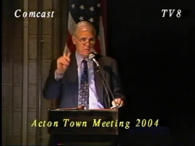 Town Meeting - April 1, 2004