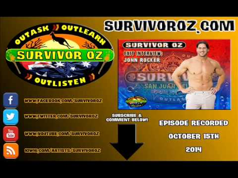 Survivor Oz - John Rocker San Juan Del Sur Exit Interview