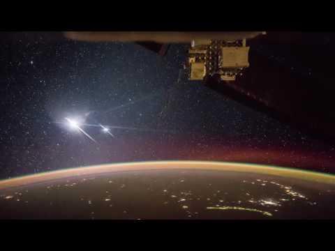 ISS Time Lapse  - Moon & Venus! Amazing!