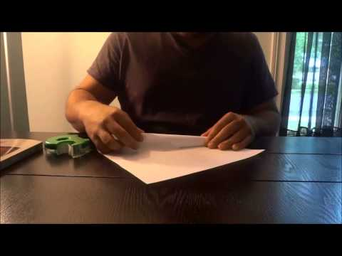 How To Make A Funnel Out Of Paper