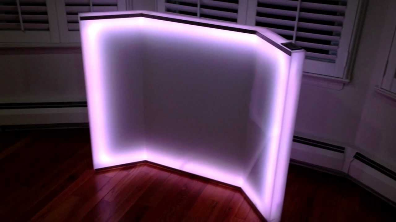 School project ideas led plexiglass youtube Cool things to do with led strips