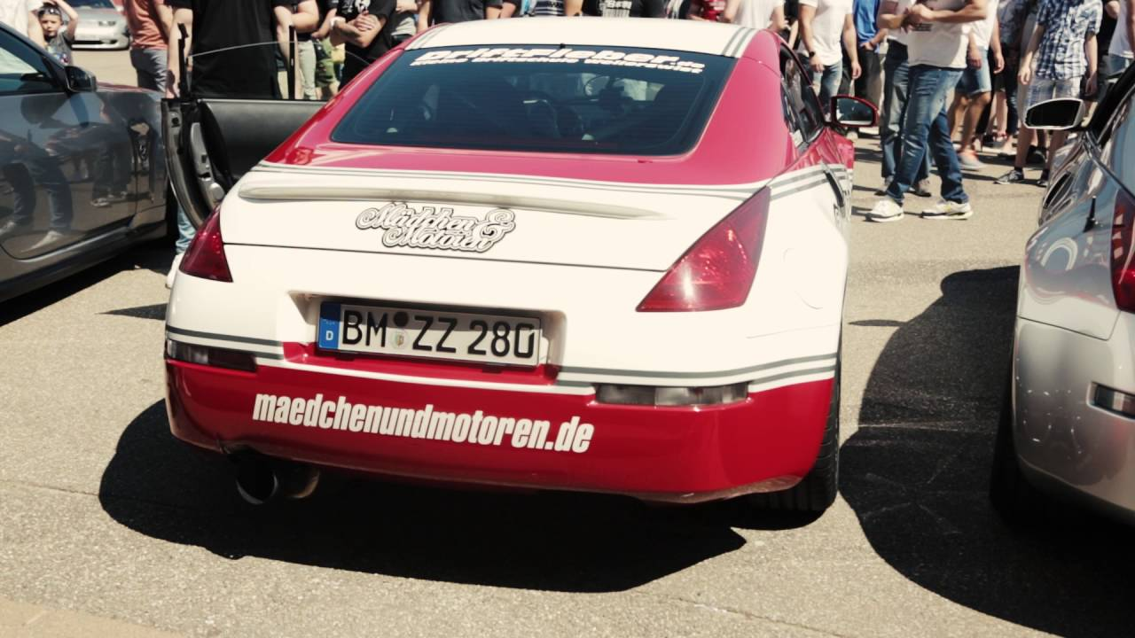 350Z Tomei Expreme TI with Megan Racing Y Pipe @Znation Meet 2016