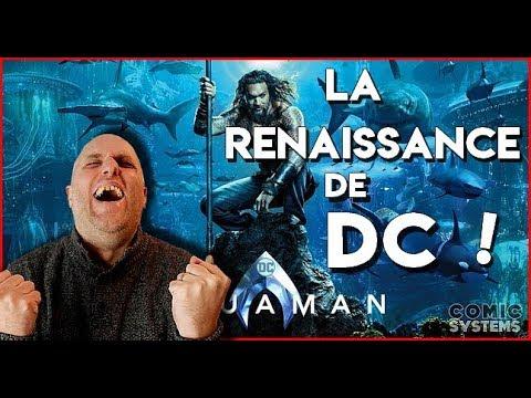 AQUAMAN - Critique ! Le retour de DC ! (sans spoilers)