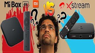 Mi Box 4k vs Airtel Xstream Box   Detailed Comparison   Is Mi Box 4K Better ???