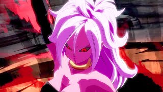 Dragon Ball Fighterz Showing off android 21