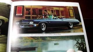 Brochure Buick 1972