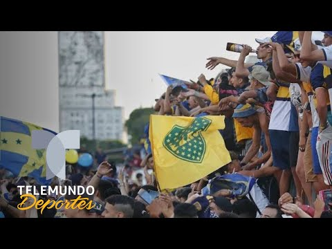 Afición de Boca Juniors celebra el Día del Hincha pese a perder la Libertadores   Telemundo Deportes
