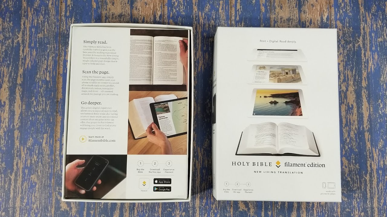 Tyndale NLT Filament Edition – Bible Review - Bible Buying Guide