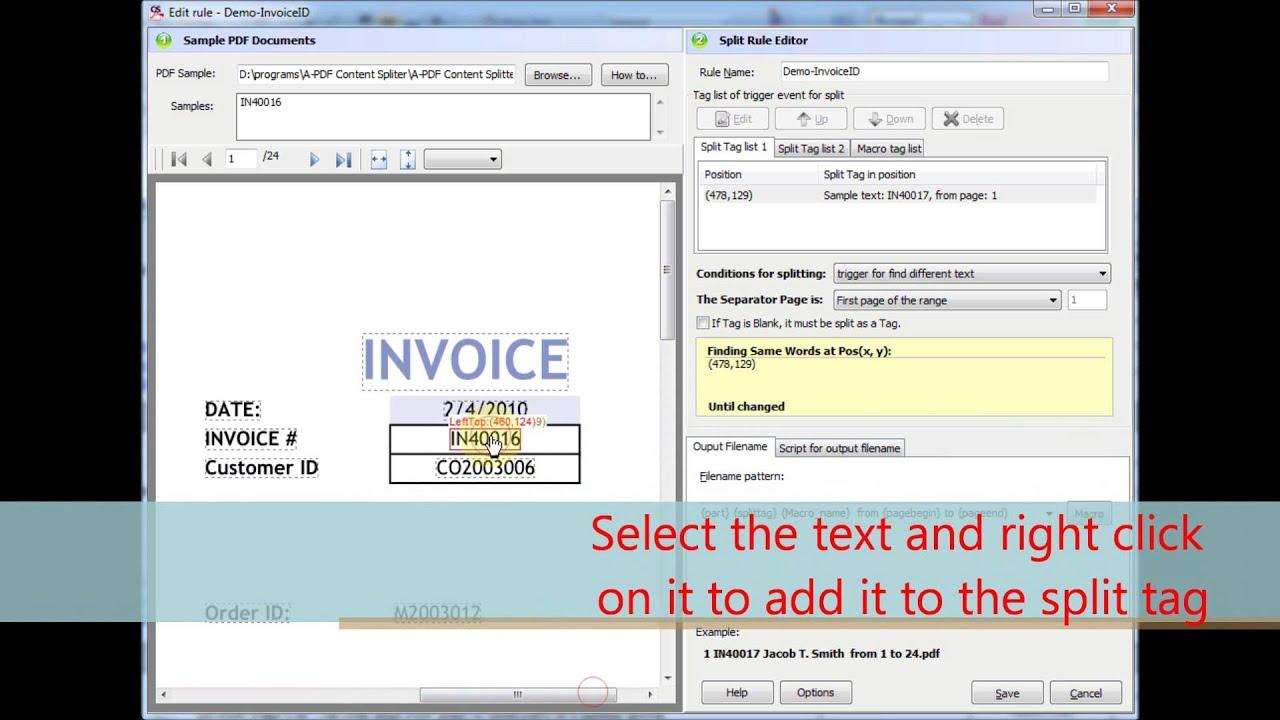 A PDF Content Splitter Service 1.7.0 (7 Downloads Available)