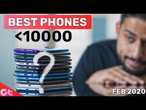 TOP 6 BEST PHONES UNDER 10000 In FEB 2020 | Sabse Best Kaunsa? | GT Hindi