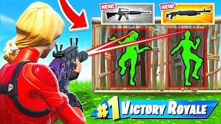 BETTER AIM = BETTER LOOT! *NEW* Game Mode in Fortnite Batte Royale
