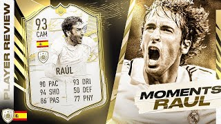 SHOULD YOU DO THE SBC??🤔 93 PRIME ICON MOMENTS RAUL REVIEW! FIFA 21 Ultimate Team