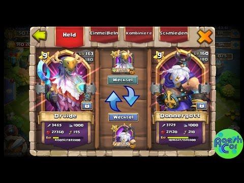 Hero Trading - Helden Tauschen | Castle Clash Schloss Konflikt ಠ Update Ideen | RaeshCor