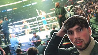 Sneaking Into Ringside KSI VS LOGAN REMATCH