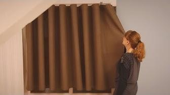 Wave-verhonauhalla ompelet kauniisti aaltoilevat verhot