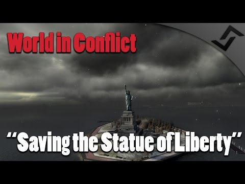 World in Conflict - Saving the Statue of Liberty - Mission 15 USA - Heavy Helicopters