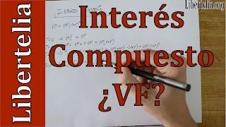 Demostración valor futuro con interés compuesto | Matemáticas Financieras | Libertelia.org