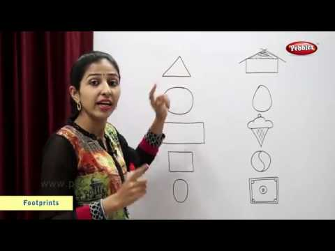 CBSE Class 2 Maths | Chapter 6 : Footprints | NCERT | CBSE Syllabus | Basic Shapes, Count The Shapes