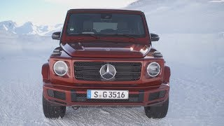 2019 Mercedes G350d 4MATIC hyacinth red