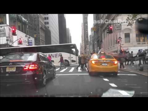 Driving Around Manhattan, New York City (NYC)