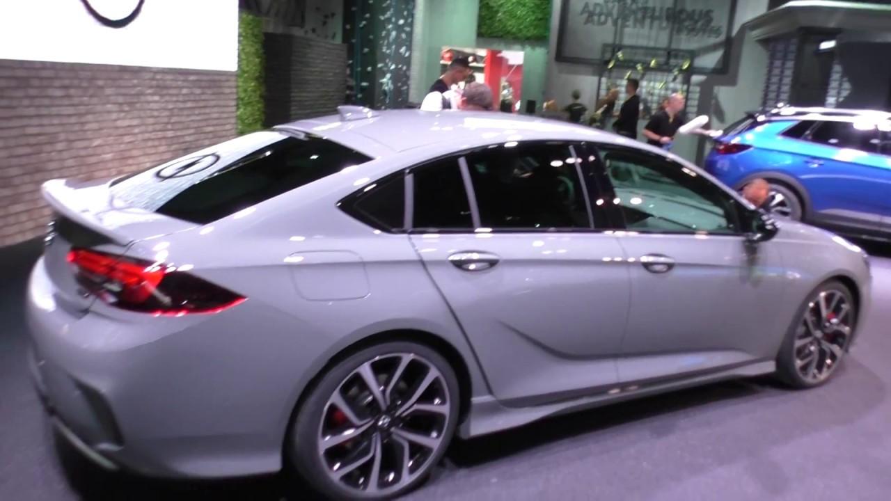 Opel Insignia Gsi Iaa 2017 Youtube