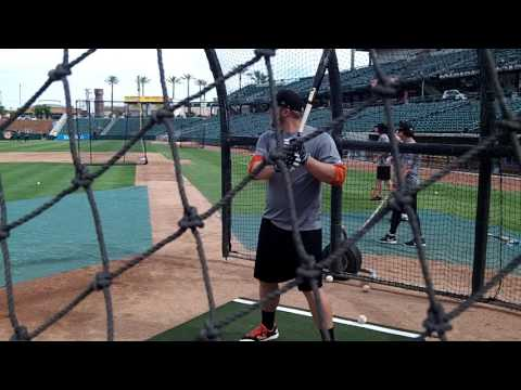 A J  Reed Batting Practice - June 2016