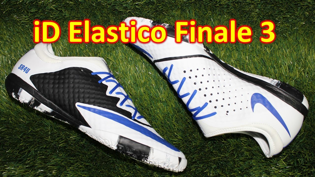 Nike iD Elastico Finale 3 Indoor - Review + On Feet