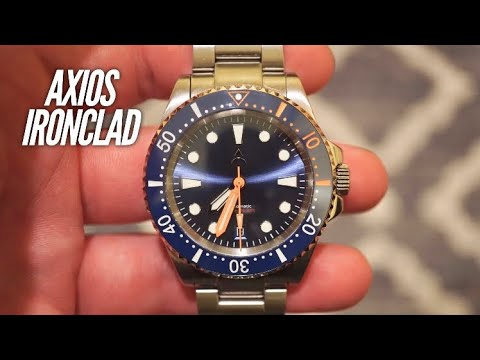 AXIOS Ironclad 500M Dive Watch Review - VERY Good Value Watch!