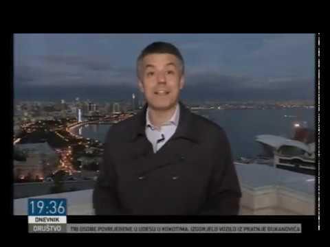 Azerbaijan news on RTCG - Dnevnik 02.11.2017