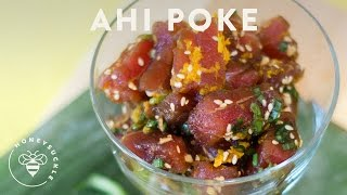 Hawaiian Ahi Poke Recipe - Honeysucklecatering