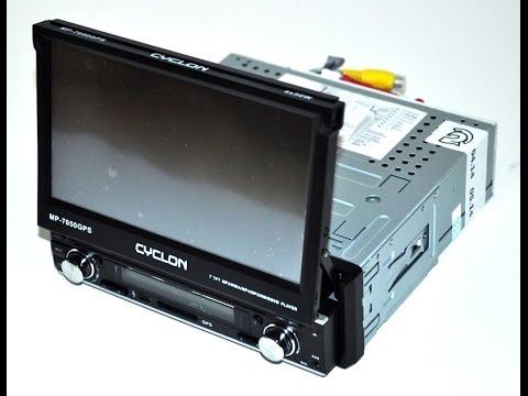 Обзор автомагнитолы Cyclon MP7050 GPS. Кино для каждого.