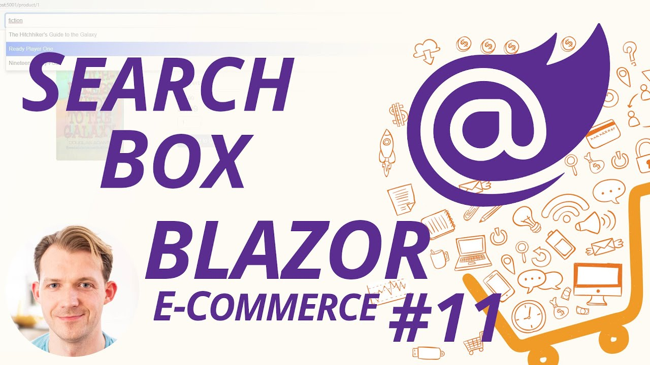 Search Box/Bar/Field with Blazor WebAssembly using Blazored.Typeahead   Blazor E-Commerce Series #11