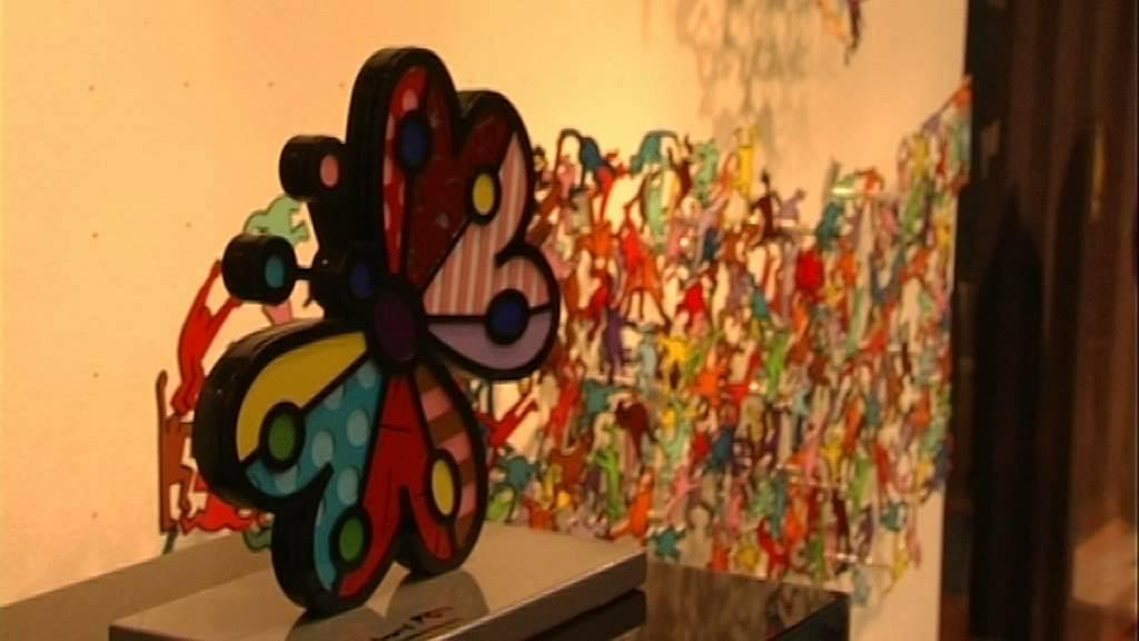 Mensing Galerie austellung des pop künstlers david kracov in der galerie mensing