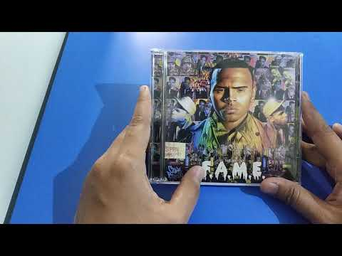 Repeat Unboxing CD Chris Brown FAME album and Chris Brown