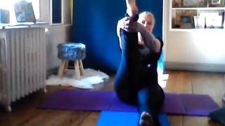 N°22/By Sylvie FREGEZ cours de stretching