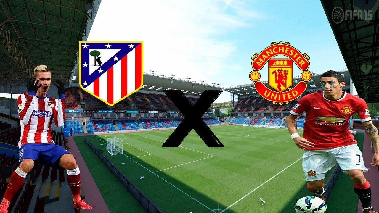 Manchester United Vs Manchester City 2012 Full Match: Atletico Madrid Vs Manchester United 2-0 Full Match