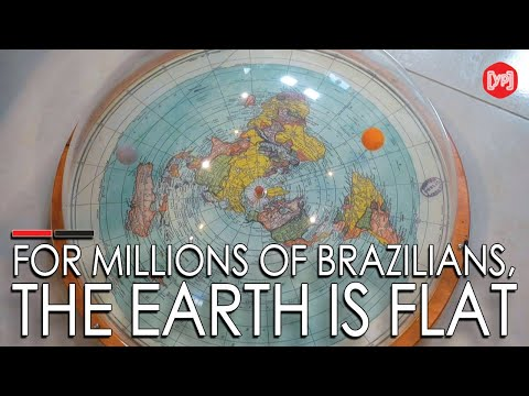 For millions of Brazilians, the Earth is flat thumbnail