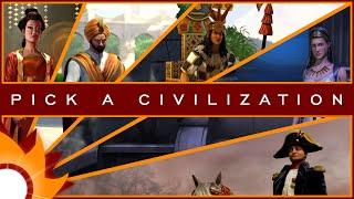 Civilization V - Pick a Civilization! (CLOSED)