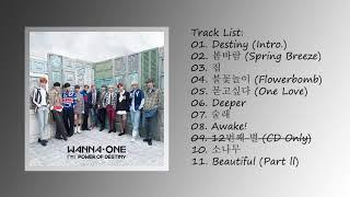 FULL ALBUM Wanna One 워너원 – 1¹¹=1 POWER OF DESTINY