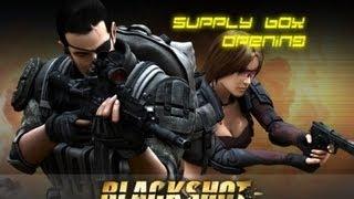 blackshot supply box opening