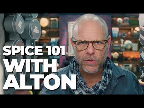 INSIDE ALTON BROWN'S SPICE CABINET 👏 Good Eats: The Return EXCLUSIVE