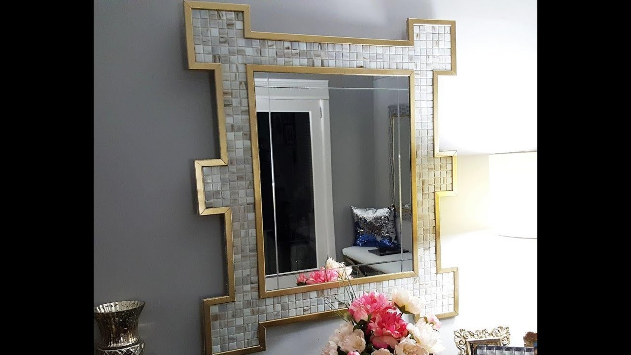 Mosaic Mirror DIY
