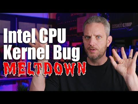 Some Intel CPUs are about to get much slower... Intel Kernel Bug